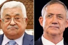 صحيفة تكشف الهدف من لقاء الرئيس عباس بغانتس