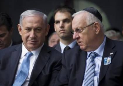 نتنياهو يعيد التكليف الى الرئيس الإسرائيلي ريفلين