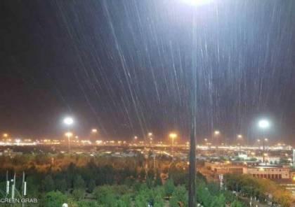 أمطار غزيرة على مكة عشية الوقوف بعرفة