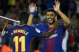 عثمان ديمبيلي الخائف الوحيد في برشلونة من صفقة مالكوم