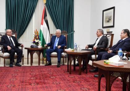 ماذا ابلغ العمادي الرئيس عباس خلال لقائهما حول المقترحات بشأن غزة ؟