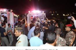 استمرار وصول جرحى غزة إلى المستشفيات المصرية و 7 مصابين يصلون الأردن