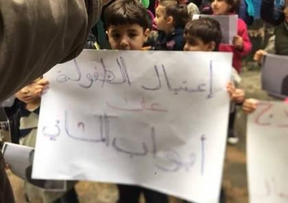 احتجاجات بمخيمي نهر البارد والبداوي إثر وفاة طفل فلسطيني