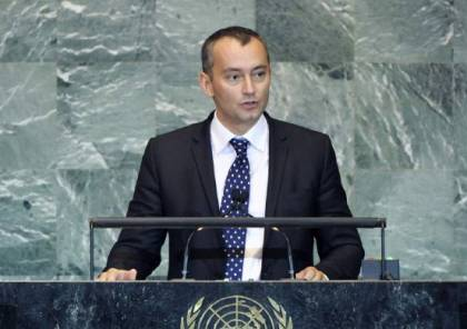 """ملادينوف يدعو الى التحقيق الفوري في جريمة اعدام الطفل الفلسطيني""""أبو عليا"""""""