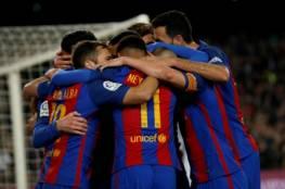 برشلونة يستعد لمباراة كأس الملك بدون 4 نجوم