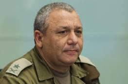 ايزنكوت يتعهد باستعادة جثث الجنود القتلى في غزة لقبرهم في اسرائيل