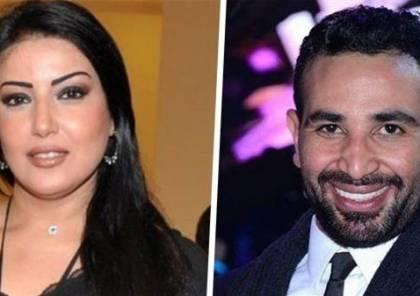 سمية الخشاب حامل من زوجها أحمد سعد