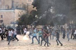 """صحيفة عبرية : الحرم القدسي """"قنبلة قابلة للانفجار"""""""