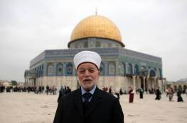 """""""فتح"""" تستنكر الاعتداء على المفتي العام وتدعو لرص الصفوف في وجه الاحتلال"""