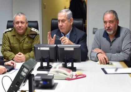 معاريف: أزمة ائتلافية جديدة تهدد بانسحاب ليبرمان من حكومة نتنياهو