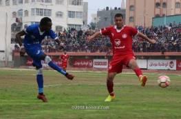 تغيير موعد مباريات دوري غزة