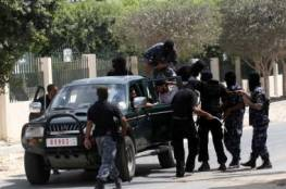 إصابة شابين خلال عملية مداهمة لقوات مكافحة المخدرات بغزة