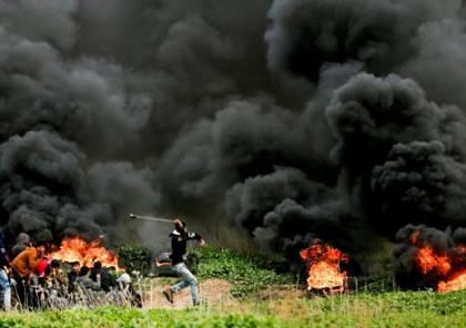 """جيش الاحتلال يتوعد بـ""""ضرب عمق غزة"""" إذا استمرت """"الأحداث العنيفة"""" على الحدود"""