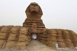 القاهرة تعلن اكتشاف تمثال جديد يعود إلى ما قبل الميلاد بمئات السنين