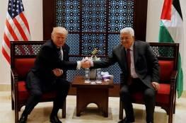 """قناة عبرية تزعم: لماذا صرخ الرئيس الامريكي في وجه """"ابو مازن """" ببيت لحم ؟"""