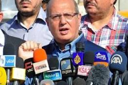 الخضري: استهداف الخان الأحمر جزء من خطة اسرائيلية لتهويد القدس وتقطيع الضفة