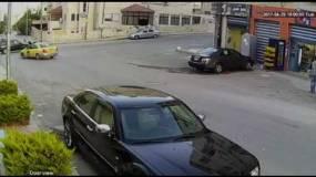 حادث دهس مروع في  عمان