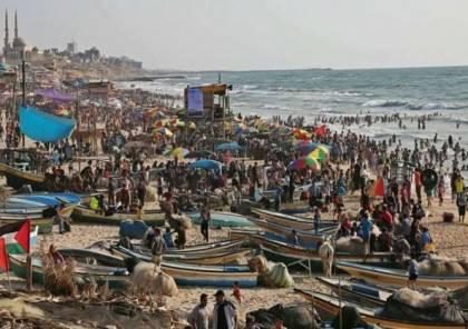 سلطة جودة البيئة: 50% من شواطئ غزة غير صالحة للاستجمام