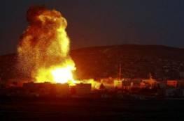 جيش الاحتلال يقصف عدة مواقع للجيش السوري في القنيطرة