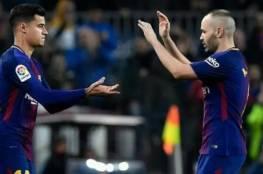 ما قاله كوتينيو عقب المباراة الأولى مع برشلونة