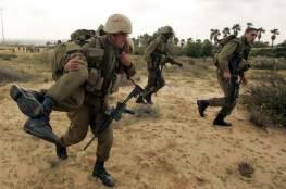 جيش الإحتلال يُجري تدريبات في محيط غزة