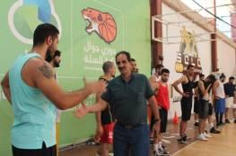 فدائي السلة يواصل تدريباته استعدادا للبحرين