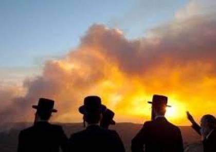الحرائق تعود مجددا الى مستوطنات غلاف غزة ...