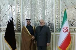 محادثات بين ظريف ونظيره القطري في طهران