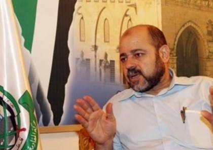"""أبو مرزوق يتحدث عن المصالحة والملف الامني ودحلان ويفسر المقصود بـ""""كسر الرقاب"""""""