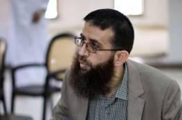 خضر عدنان يواصل إضرابه عن الطعام في سجون الاحتلال
