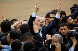 """السنوار: """"مسيرات العودة ستستمر حتى كسر الحصار ولا أخشى الاغتيال"""""""