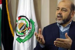 """أبو مرزوق: في ظل تراجع صحة """" أبو مازن"""" يجب القيام بقرارات محسوبة كي لا نفاجأ بأمر يربك الجميع"""
