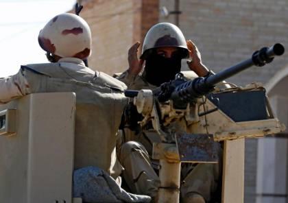 الجيش المصري يعلن تنفيذ عملية كبيرة في سيناء