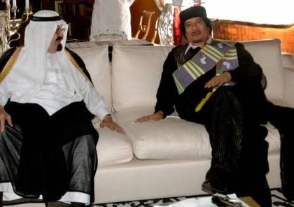ما هو مضمون آخر رسالة وجهها القذافي إلى السعودية؟