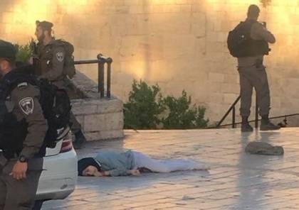فيديو : استشهاد فتاة برصاص الاحتلال في القدس المحتلة بزعم عملية طعن