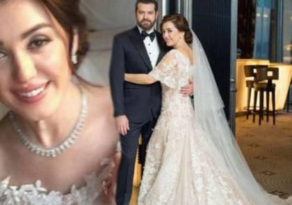 كندة علوش تكذب بشأن فستان زفافها