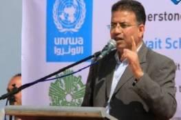ابو حسنة:الجمعية العامة صاحبة التفويض ولا نخضع لرغبات اشخاص او دول لالغاء الاونروا