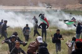 فيديو: فرحة جندي اسرائيلي بقنص و اصابة متظاهر أعزل على حدود غزة