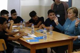ميركل: الأوضاع في سورية غير ملائمة لعودة اللاجئين