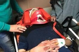 اصابة شاب بجراح خطيرة دهسا بسيارة مستوطن شرق القدس المحتلة