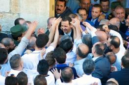بالفيديو.. ماذا فعل الأسد عقب الهجوم ؟