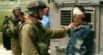 اعتقال فلسطينيين - ارشيف