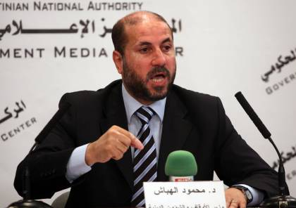 الهباش يتهم حماس بسرقة المساعدات
