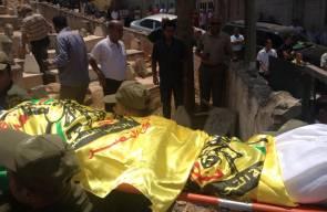 مراسم دفن جثمان العقيد في الامن الوقائي باجس خطاطبة