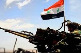 الجيش السوري يتهم إسرائيل بالتنسيق مع المجموعات الإرهابية ودعمها