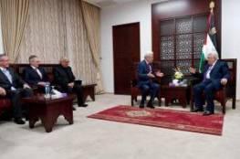 الرئيس عباس يستقبل وفداَ من رجال الاعمال الفلسطينيين المغتربين