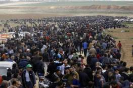 """غزة تقرر : الجمعة القادمة لمسيرات العودة """"جمعة الشباب الثائر"""""""