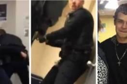 شرطي يطلق رصاصة في وجه شاب داخل محكمة بحضور والدته!