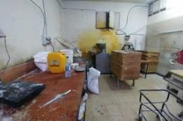 ايقاف مخبز عن العمل في قرية بدو شمال غرب القدس