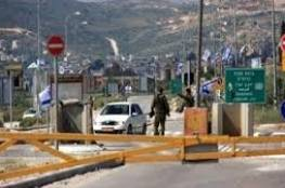 الاحتلال يزعم احباط تنفيذ عملية طعن على حاجز حوارة